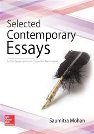 selected contemporary essays for civil service and other  selected contemporary essays for civil service and other competitive examination