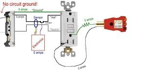 gfi outlet replace trouble shoot Gfci With No Ground Wiring Diagram Gfci With No Ground Wiring Diagram #89 Wire a GFI without Ground