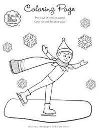 Elf On The Shelf Color Pages My Localdea