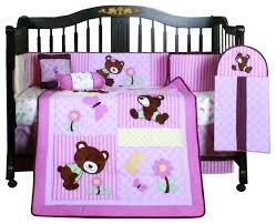teddy bear crib bedding set girl teddy bear crib bedding set boutique teddy bear 13 piece