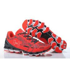 under armour shoes red. men\u0027s under armour scorpio running shoes bolt orange/metallic silver/graphite red s