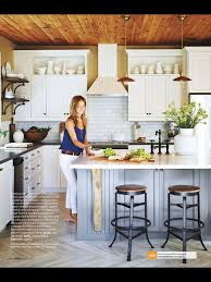 Kitchen Magazine White Kitchen Subway Tile White Cabinets Black Countertop