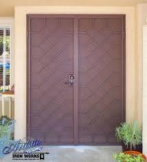 double door screen door wrought iron security screen double doors double front door screen doors