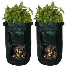 <b>Grow</b> Bags Patio, Lawn & Garden Tomato <b>Grow</b> Bag <b>2Pcs</b> Garden ...