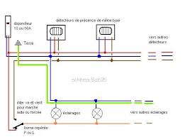 Captivating Schema Branchement Electrique Luminaire