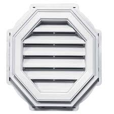Mid America Shutters Color Chart Mid America Octagon Vinyl Gable Vents From Buymbs Com