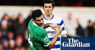QPR blame Joey Barton's red card and defeat on 'cheat' Bradley Johnson |  Premier League 2011-12 | The Guardian