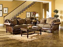 Traditional Living Room Furniture Stores Claremore Traditional Antique Fabric Sofa Wpillow Back For