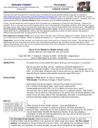 Proper Format Of A Resume. scannable resume template scannable ...