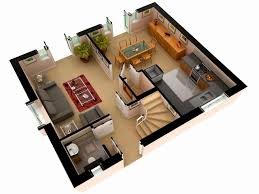 brilliant simple 4 bedroom house plans 3d beautiful 25 more 2 bedroom 3d picture
