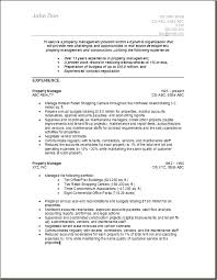 The manager provides the needed estate or property management  Are you  making a resume for ...