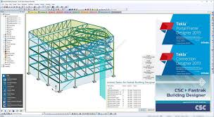 Portal Frame Design Software Tekla Fastrak Portal Frame Designer And Connection Designer