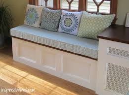 Stylish Simple Breakfast Nook with Ikea Solid Wood Storage Bench ...