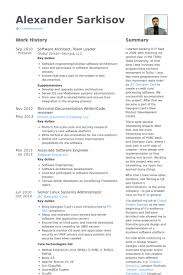 Sample Resume For Technical Lead Meloyogawithjoco Simple Sample Resume For Technical Lead
