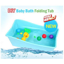 foldable collapsable baby child newborn bathtub safety bath tub