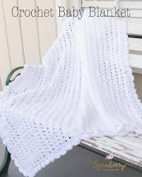 "Crochet Baby Blanket Patterns New Sweet As Snow"" Crochet Baby Blanket Tutorial Free Crochet Pattern"