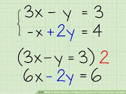 image titled solve systems of algebraic equations containing two variables step 8