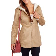 women s faux suede shearling coat you won t believe how soft this coat is com