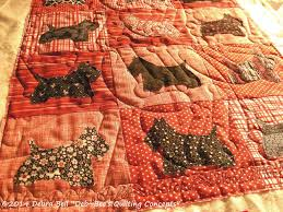 Dog Bone Quilting Design Scottie Dog Deb Bees Quilting Concepts