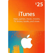 25 apple itunes gift card us scan