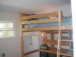 ikea loft bed with desk wood loft bed w desk instruction ikea