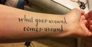 Wie Du Dich Für Das Richtige Lyric Tattoo Entscheidest Vice