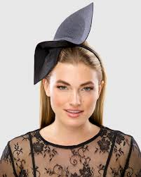 PEGGY (black/gray) | FORD MILLINERY