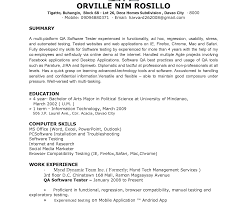 Junior Test Engineer Sample Resume 20 Entry Level Engineering