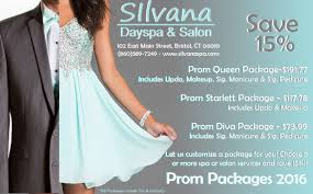 silvana prom packages 2016