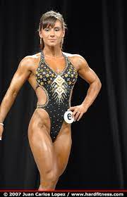Chandra Coffey - onepiece - 2007 Olympia Fitness, Figure and Ms. Olympia