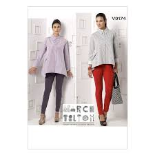 Marcy Tilton Patterns Magnificent Vogue Marcy Tilton Sewing Pattern V48 Misses ShirtPants From £4848