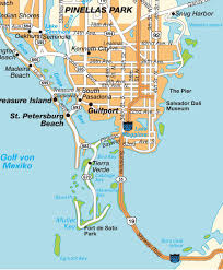 map st petersburg fl florida usa maps and directions at hotmap