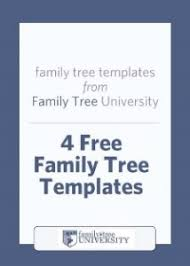 free family tree template editable 4 free family tree templates family tree