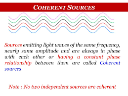 Coherent Sources Of Light Ppt Physics I Powerpoint Presentation Free Download Id