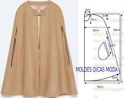 Cape Sewing Pattern Interesting Resultado De Imagen Para MODELOS DE CAPAS Capas Pinterest