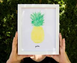 Easy Things To Paint Pineapple The Little Things