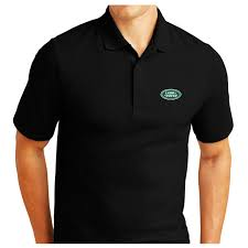 details about land rover logo embroidered pique polo shirt work outdoor sport birthday gift