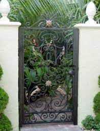 aluminum garden pedestrian gates