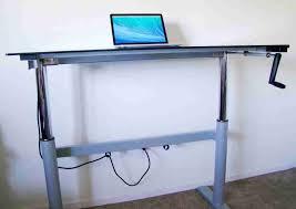 diy adjule standing desk