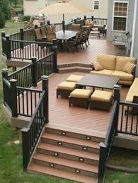 backyard deck design ideas. Excellent Patio Decks Multi Level Design And Ideas Nyasbuq Backyard Deck