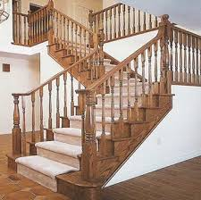 Beautiful Wooden Staircase Design Railings Inside Wood Stair Railing  Inspirations 9