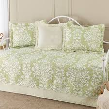 36 best Daybed Covers images on Pinterest | Bedroom, Bolster ... & Laura Ashley Rowland 5 Piece Daybed Quilt Set - Freshen your multi-use  guest room by dressing the daybed in this Laura Ashley Rowland 5 Piece Daybed  Quilt ... Adamdwight.com