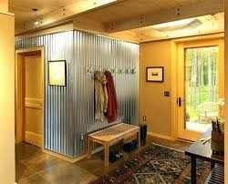 sheet metal wall panels metal garage wall panels corrugated steel wall contemporary entry with corrugated sheet