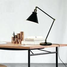 modern office lamps. Modern Swing Arm Iron Table Lamps Classic Black Decorative Desk Book Reading Light E27 Loft Office O