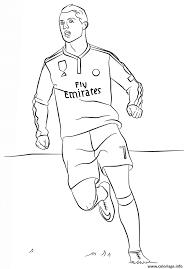 Coloriage Cristiano Ronaldo Foot Jecolorie Com