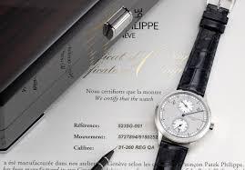 Patek Philippe A Very Fine And Rare White Gold Annual
