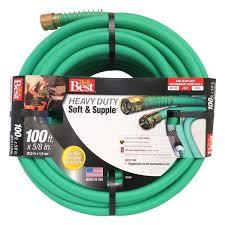 best 100 ft water hose soft supple heavy duty
