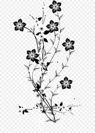 china an flower euclidean vector black and white decorative background vector flowers branch