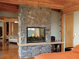 see through wood fireplace insert fireplace xtrodinair revolution clean face see thru firepla on two sided
