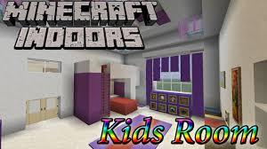 Minecraft Kids Bedroom Minecraft Indoors Kids Room Youtube